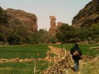 Hiking through Dogon Country, Mali