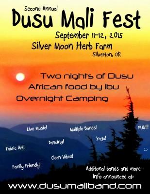 Dusu Mali Fest 2015 Initial Handbill